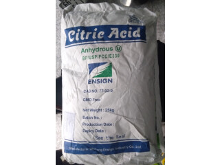 Citric Acid Anhydrate Weifang China